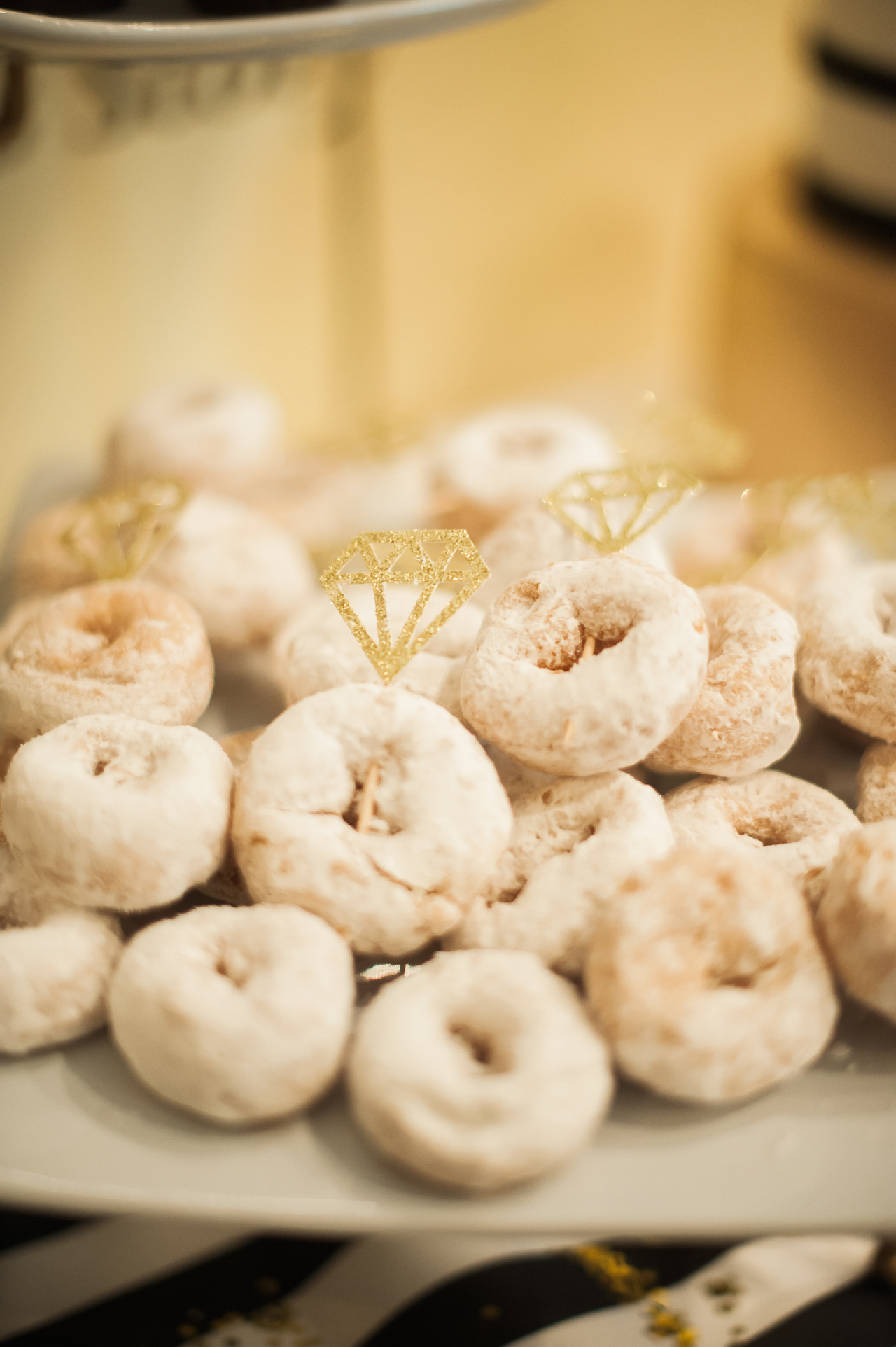 Bridal Shower Donut Engagement Rings Fancy Things